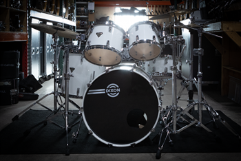 DIXON Artisan White DRUMS