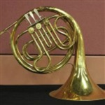 Cleveland King Faded Brass Vintage French Horn