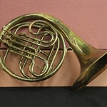 Conn Faded Brass Worn Vintage French Horn (prop)